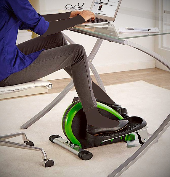 Compact Elliptical Trainer For Your Desk