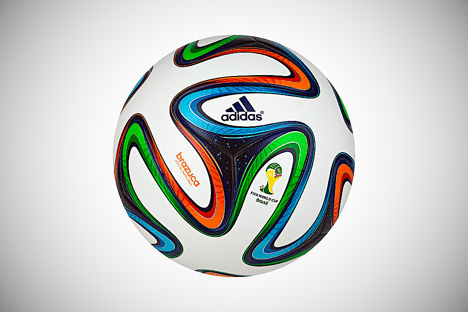 brazuca official ball fifa world cup 2014