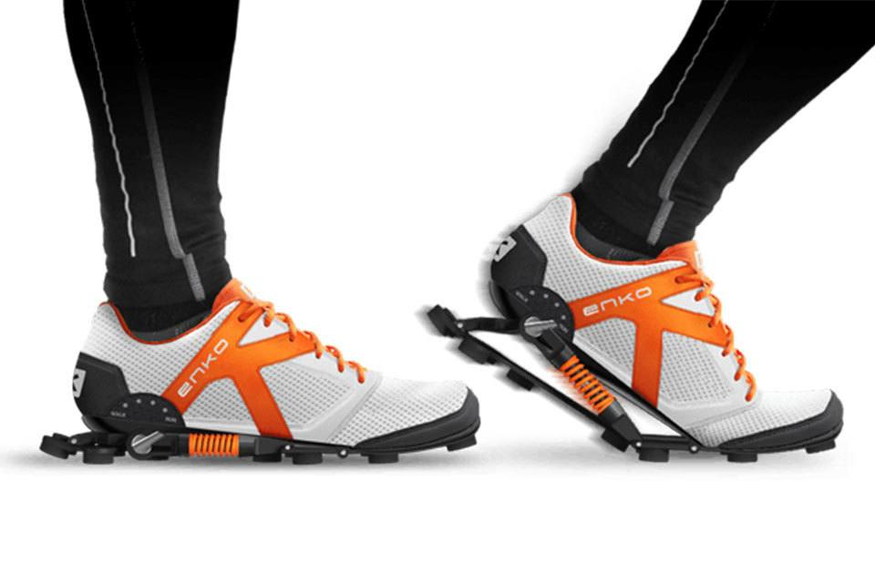 Enko Running Shoes make use of shock absorbers